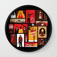 fargo Wall Clocks featuring Fargo Season 2 by Take Heed