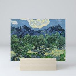 Olive Trees by Vincent van Gogh Mini Art Print