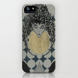 Lady. iPhone Case