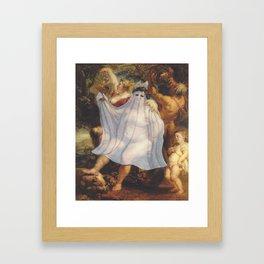 """""""Ghost Bacchus"""" / Pieter Paul Rubens Framed Art Print"""