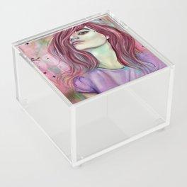 Unicorns and Starry Eyes Acrylic Box