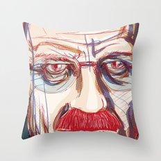 Breaking Walter // Breaking Bad Throw Pillow