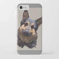 german shepherd iPhone & iPod Cases featuring German Shepherd by ArtLovePassion