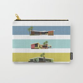 Mid Century Modern Houses 2 Carry-All Pouch