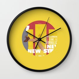 Strippers, Shirts & Shoes  Wall Clock