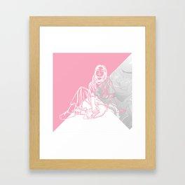 No Rules Framed Art Print