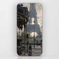 manège parisienne iPhone & iPod Skin