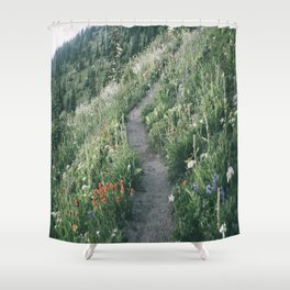 Happy Trails XIII Shower Curtain