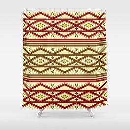 ethno pattern Shower Curtain