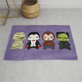 A Boy - Universal Monsters Rug