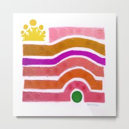 :: Princess n' Pea :: Metal Print