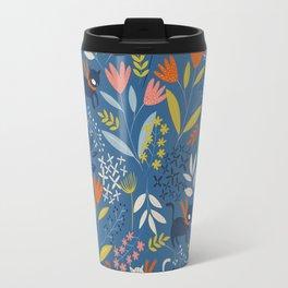 Cats & Flora Travel Mug