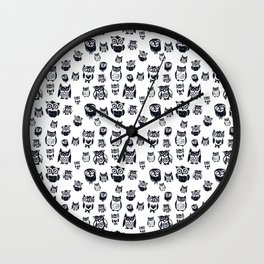 Company of OWLS Wall Clock