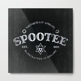 Spootee Metal Print