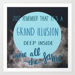 A Grand Illusion Art Print