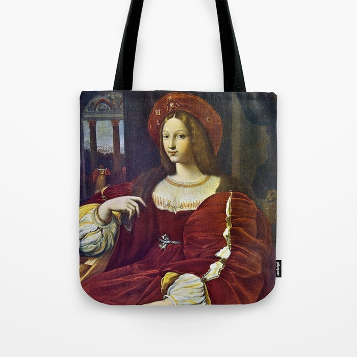 Joanna of Aragon by Raphael Tote Bag