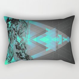 Neither Real Nor Imaginary II Rectangular Pillow