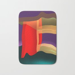 crooked space -100- Bath Mat