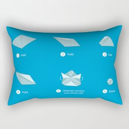 Step-by-step Origami Rectangular Pillow