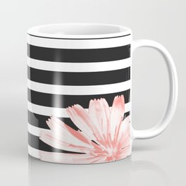 Cichoriums on stripes Coffee Mug
