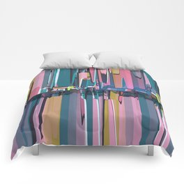 Abstract Composition 638 Comforters