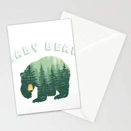 Baby Bear Forest Family Fun Stationery Cards