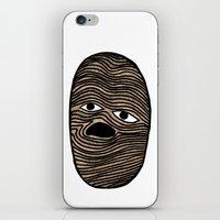 potato iPhone & iPod Skins featuring Potato by David Ernst