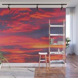 Inferno Sky Wall Mural
