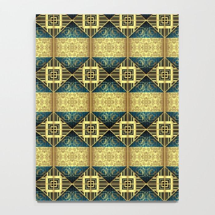 Vintage Pattern 01 Notebook