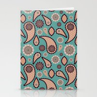 paisley Stationery Cards featuring Paisley by Lisi Fkz