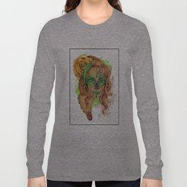 Sugar Skull Beauty Long Sleeve T-shirt