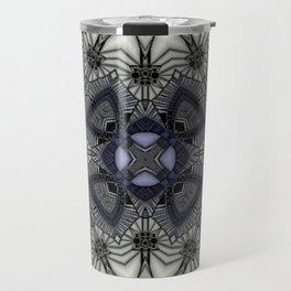 Black Rum Glass 20 Travel Mug