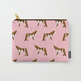 Pinto Horse gifts farm animal pet lover horseback riding Carry-All Pouch