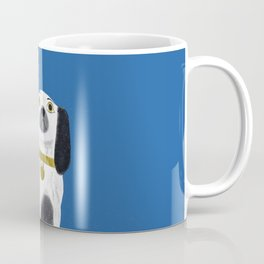 Blue Staffordshire Dog #1 Coffee Mug