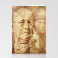 crowley Stationery Cards featuring Mr. Crowley by Rodrigo Grola
