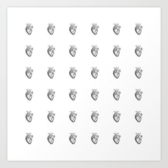Heart's A Mess Art Print
