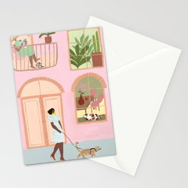 Indoor Kitties Stationery Cards