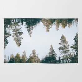 Forest Reflections IX Rug