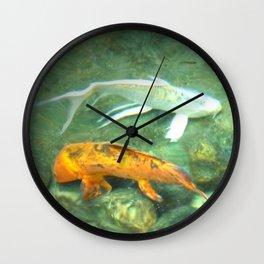 Coy Fish Wall Clock