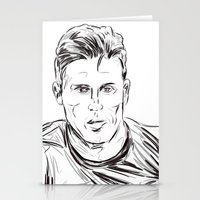 arsenal Stationery Cards featuring Giroud by ArsenalArtz