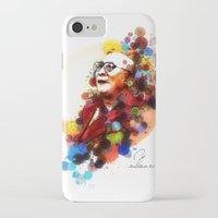 lama iPhone & iPod Cases featuring Dalai Lama by Rene Alberto
