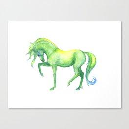 Emerald Horse Canvas Print