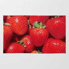 Garden Strawberries Rug