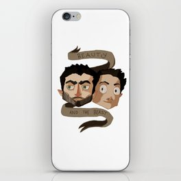 The Beauty and the Beast [Sterek] iPhone Skin