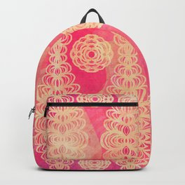 Hot Pink Lace Backpack