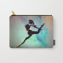 Ballet Dancer Feat Lady Dreams Abstract Art Carry-All Pouch