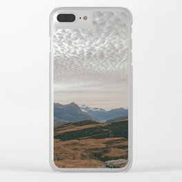 Landscapes of the Mind Clear iPhone Case