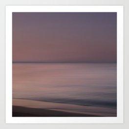 Evening at Sea Art Print