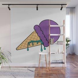 Purple Ice Cream Wall Mural