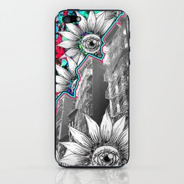 NYC Flower Escapes iPhone Skin